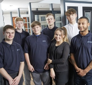 Apprentices given boardroom backing at EYG as firm looks long term to tackle skills shortage